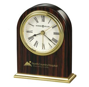 Personalized Acclaim Arch Tabletop Alarm Clock