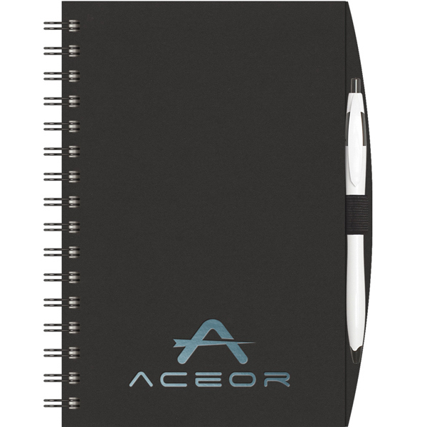 Imprinted NEW ITEM! - Express NotePad (TM) SeminarPad w/ PenPort