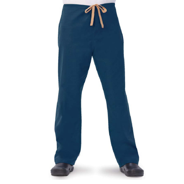 Promotional Fashion Seal 100% Cotton Unisex Drawcord Scrub Pants