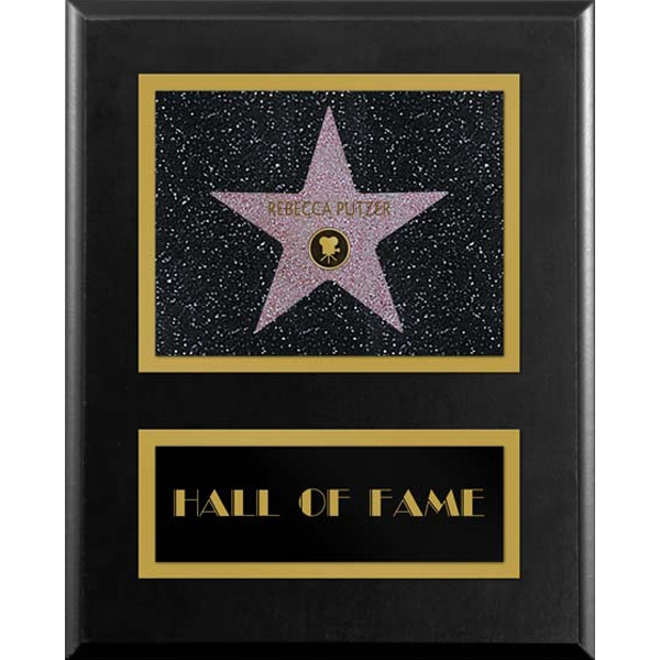 Personalized Paramount Star Plaque