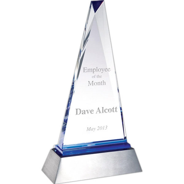 Customized Inspiration Triangle Award
