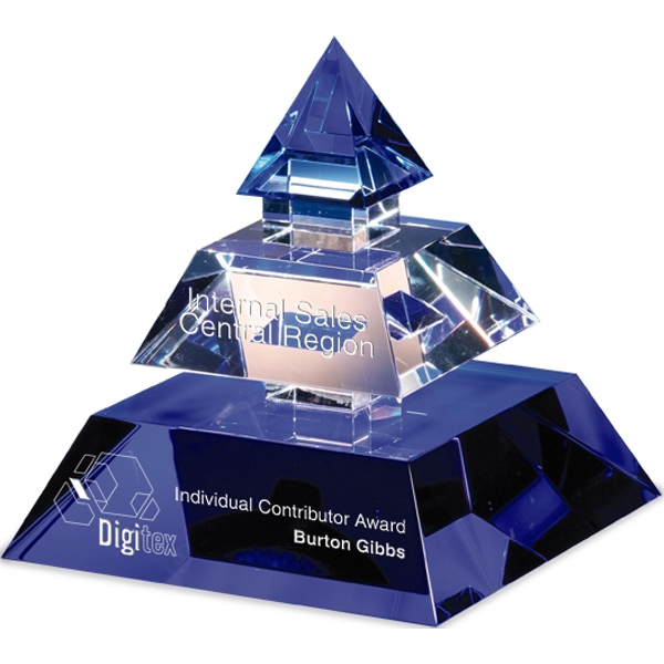 Custom Success Pyramid Award