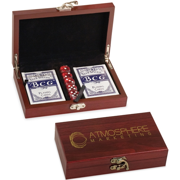 Personalized Lancer Cards/Dice Set