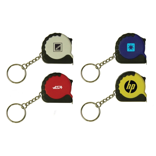 Personalized Key Ring Tape Measure