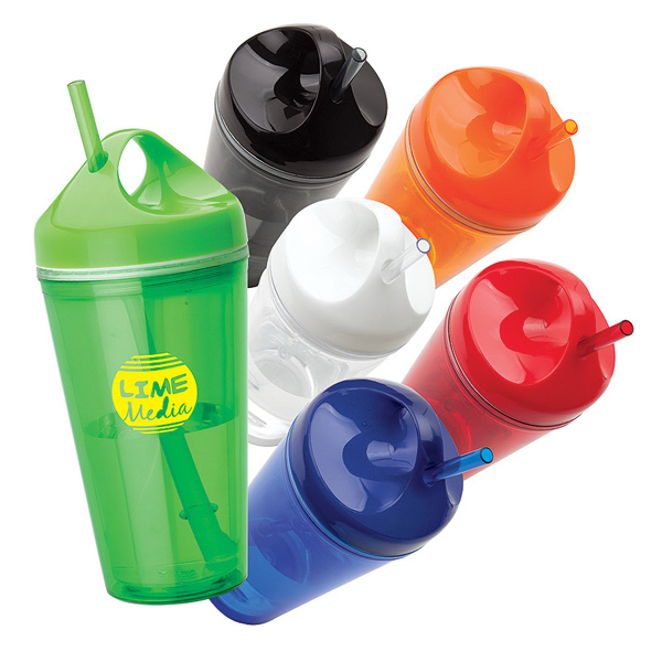 Promotional Carry Handle 16 oz. Tumbler