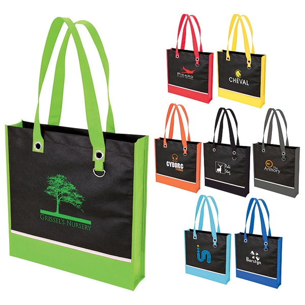 Personalized Recyclable Tote Bag with Gusset