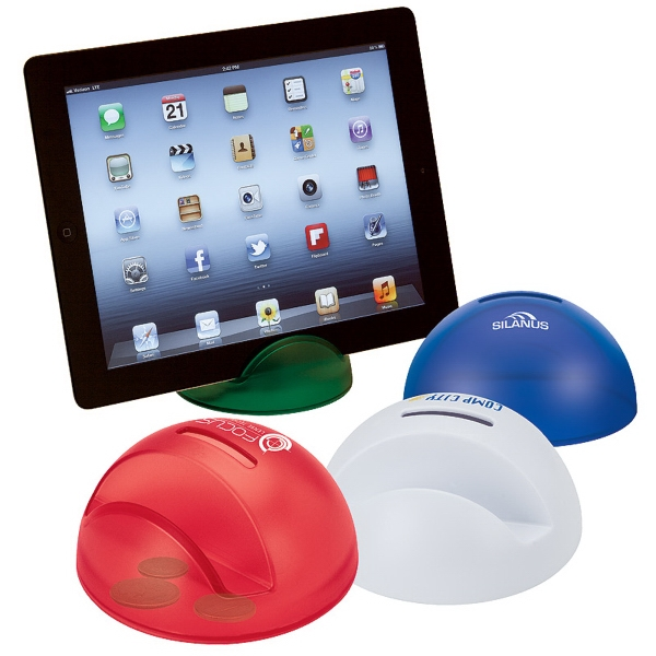 Imprinted Multi-Function Tablet Holder