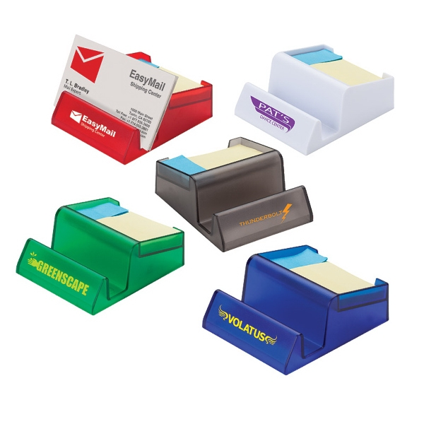 Imprinted Handy Media Card Stand