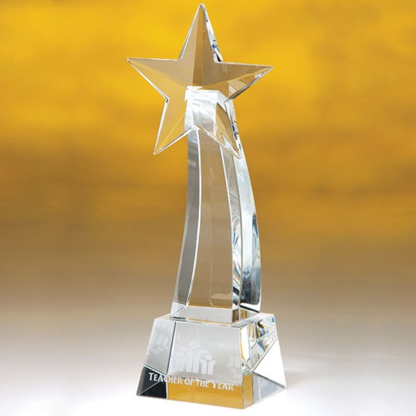 Personalized Ohiopyle Shooting Star Trophy 10""