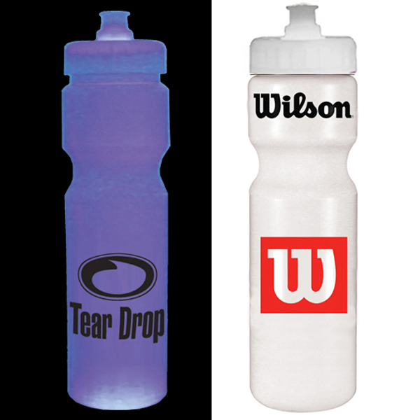 Customized Strobe 28 oz cycle bottle