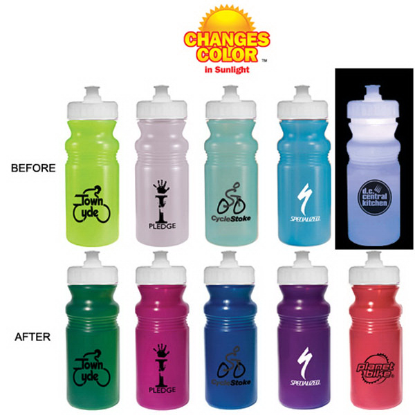 Customized Strobe 20 oz Sun Fun cycle bottle