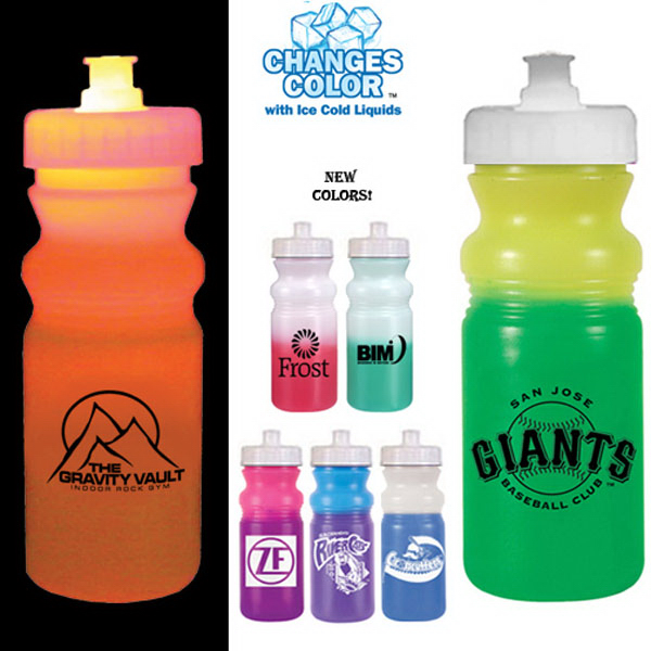 Personalized Strobe 20 oz mood cycle bottle