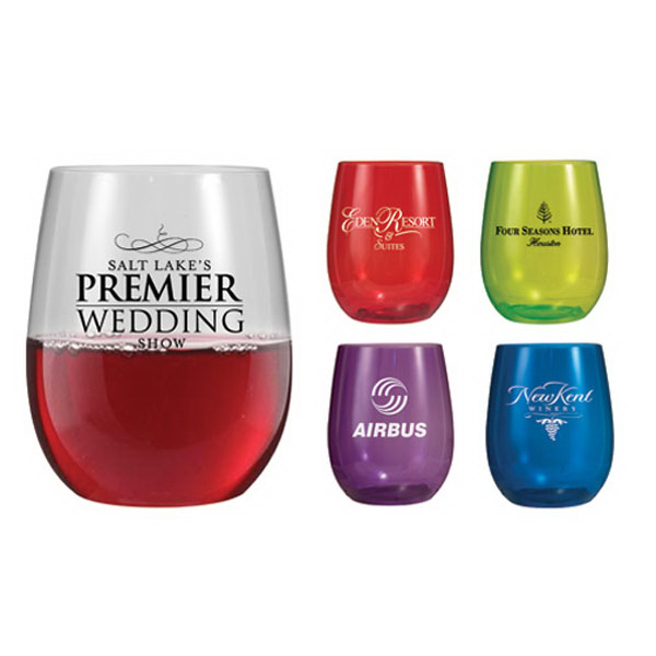 Printed 12 oz Vinello stemless wine glass