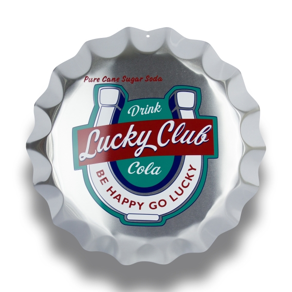 Promotional Bottle Cap Sign
