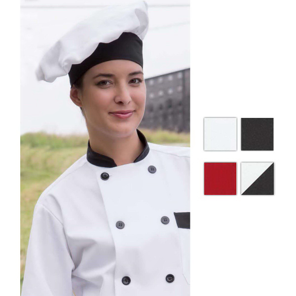 Printed Poplin Chef Hat