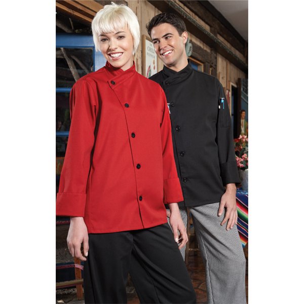 Printed Poly cotton chef coat