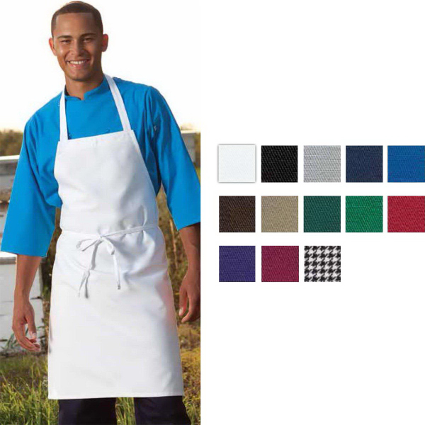Customized Classic White Bib Apron