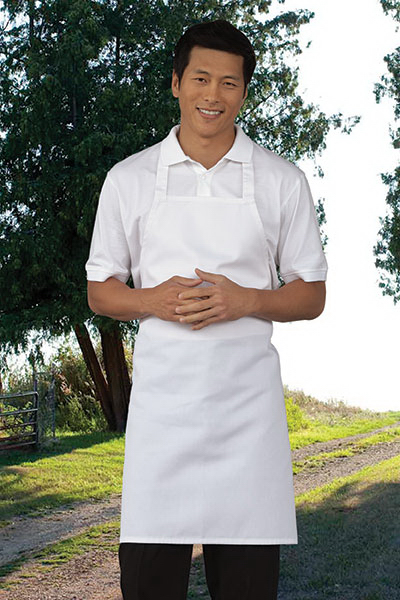 Customized Mid-Length Bib Apron