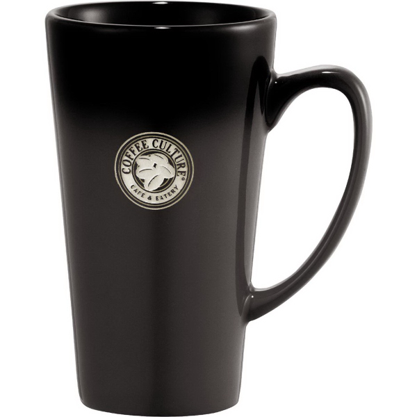 Promotional Cafe Tall Latte Ceramic Mug 14 oz