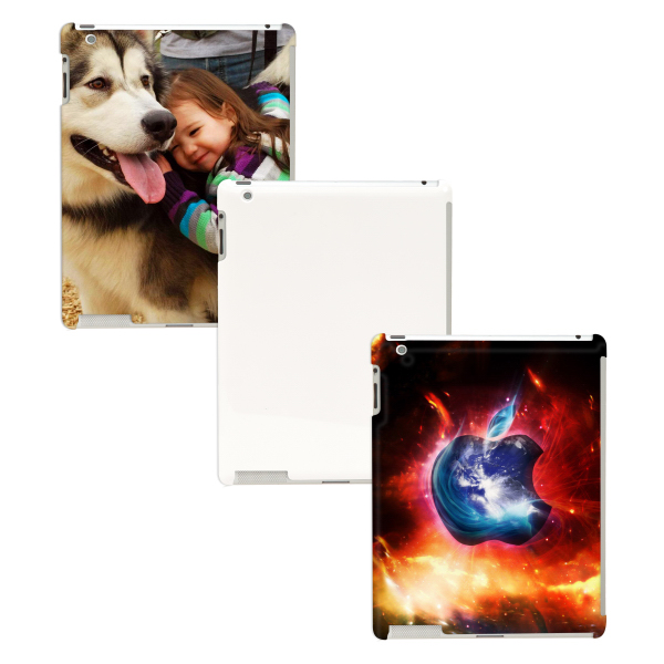 Custom iPad 2/3/4 3D Full Wrap Polymer Case (Glossy Finish)