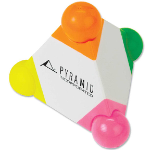 Promotional Targetline Pyramid Highlighter