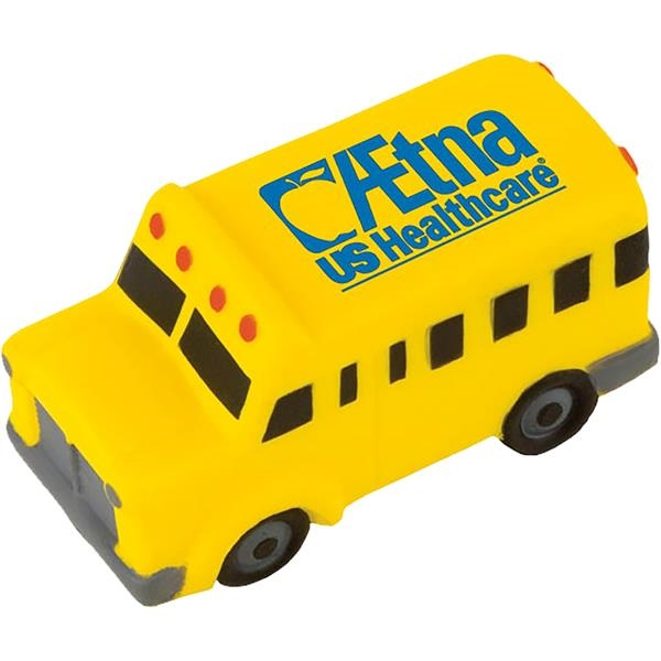 Customized Targetline School Bus Stress Reliever