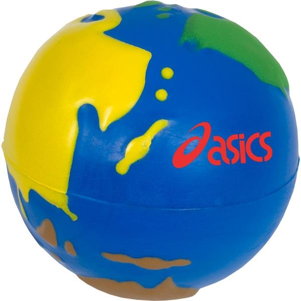 Printed MultiColor Earth Stress Reliever