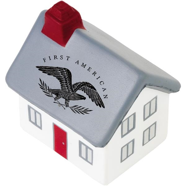 Promotional Targetline 2-Story Cottage/House Stress Reliever