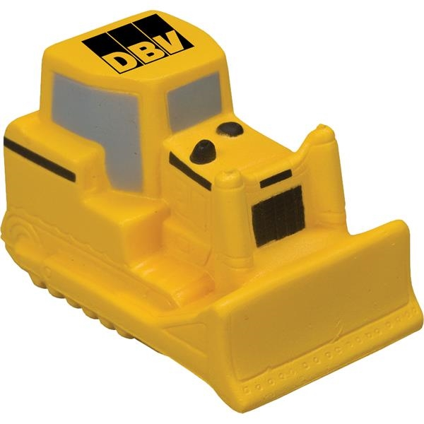 Imprinted Targetline Bulldozer Stress Reliever