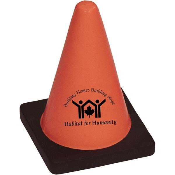 Promotional Targetline Construction Cone Stress Reliever