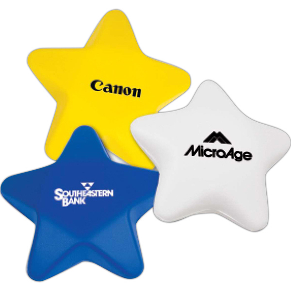 Custom Star Stress Reliever