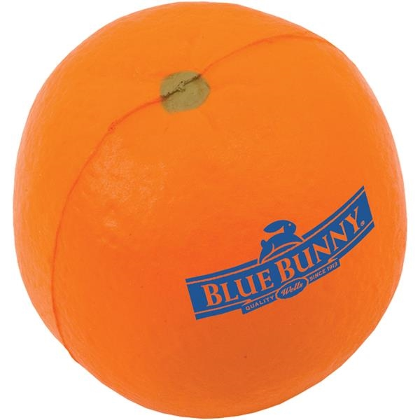 Imprinted Orange Stress Reliever