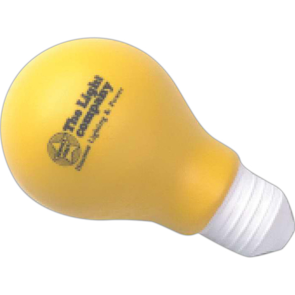Printed Targetline Light Bulb Stress Reliever