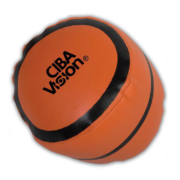 Printed Targetline Basketball Pillow ball