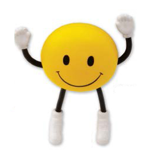 Promotional Targetline Smile Face Stick People