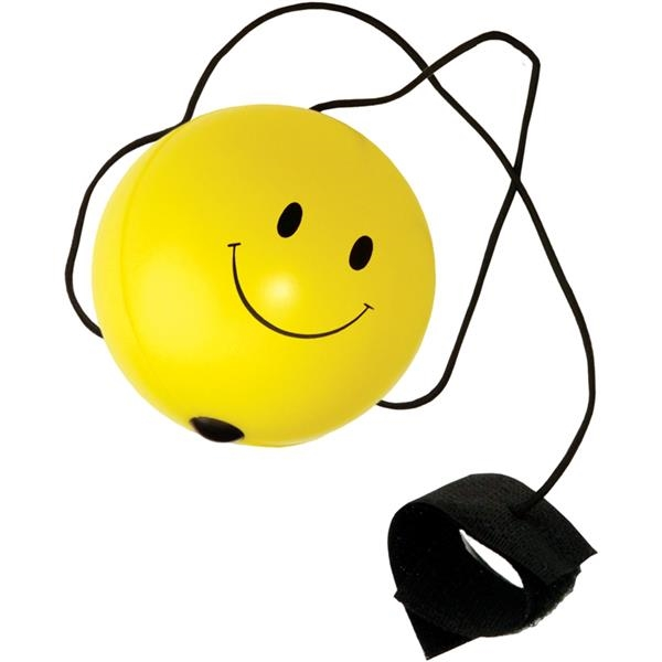 Customized Targetline Smile Face Bounce Back Stress Reliever