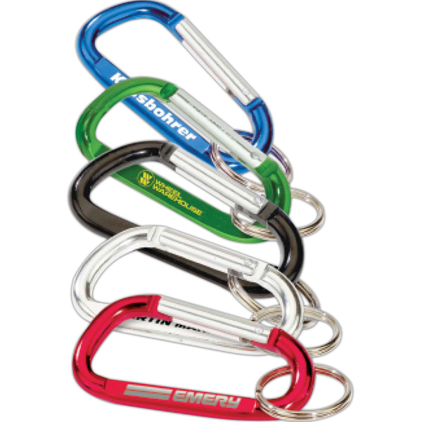 Personalized Targetline Carabiner with Split Ring