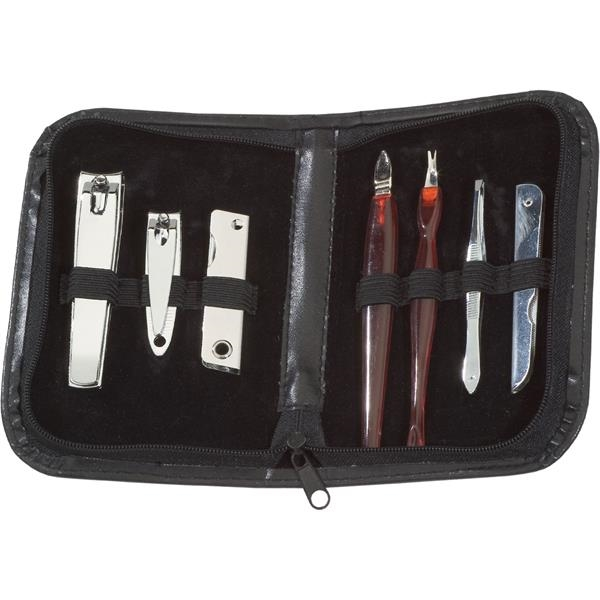 Imprinted Targetline 7-Piece Deluxe Manicure Set