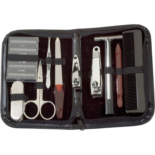 Personalized Deluxe Travel Personal Care Kit