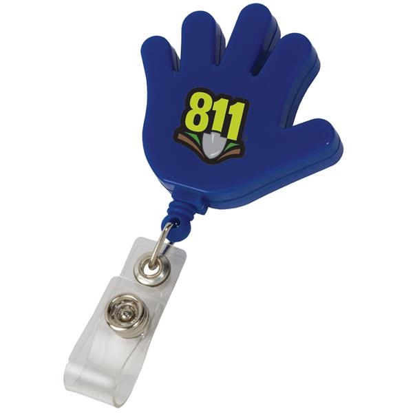 Promotional Hand Retractable Badge Holder