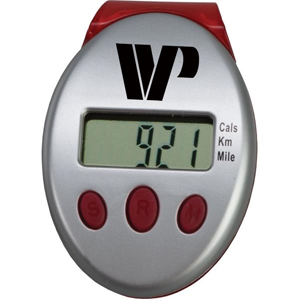 Promotional Clip-On Pedometer