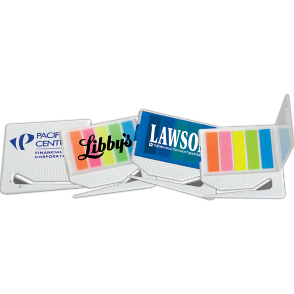 Imprinted Targetline Letter Opener with Sticky Note Flags