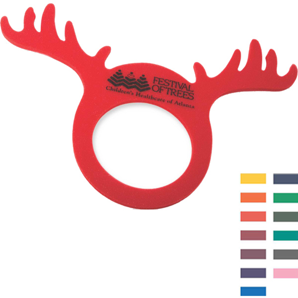 Customized Foam Reindeer Visor