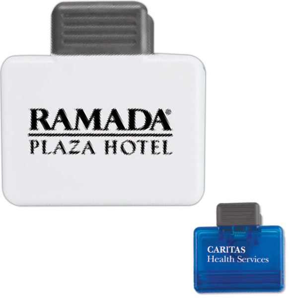 Promotional Targetline Rectangular Magnetic Clip
