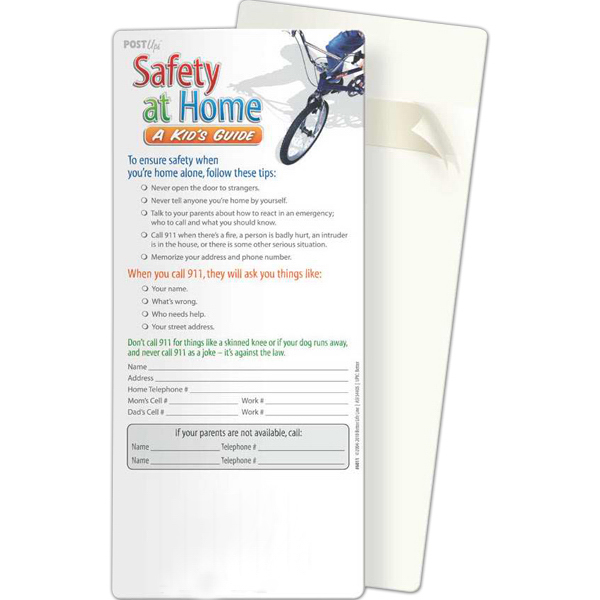 Promotional Post Ups - Safety at Home: A Kid's Guide