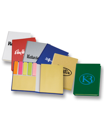 Imprinted Targetline Sticky Note Pad