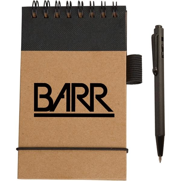 Promotional Target;ome Eco Pocket Jotter with Micro-Pen