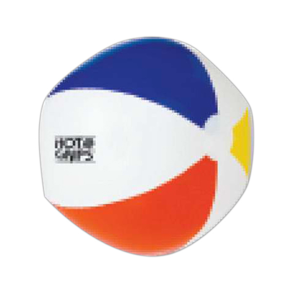 "Printed Targetline 6"" Inflatable Beach Ball"