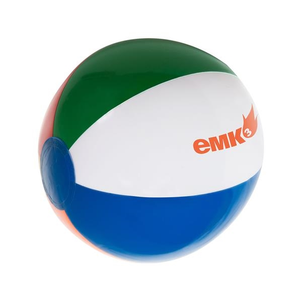 "Imprinted 12"" Inflatable Beach Ball"