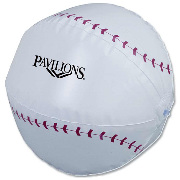 Personalized Baseball Beach Ball